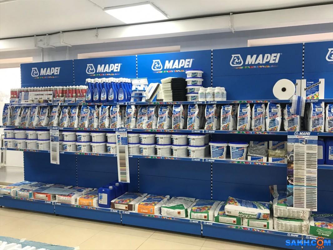 В Южно-Сахалинске открылся Технический центр Mapei