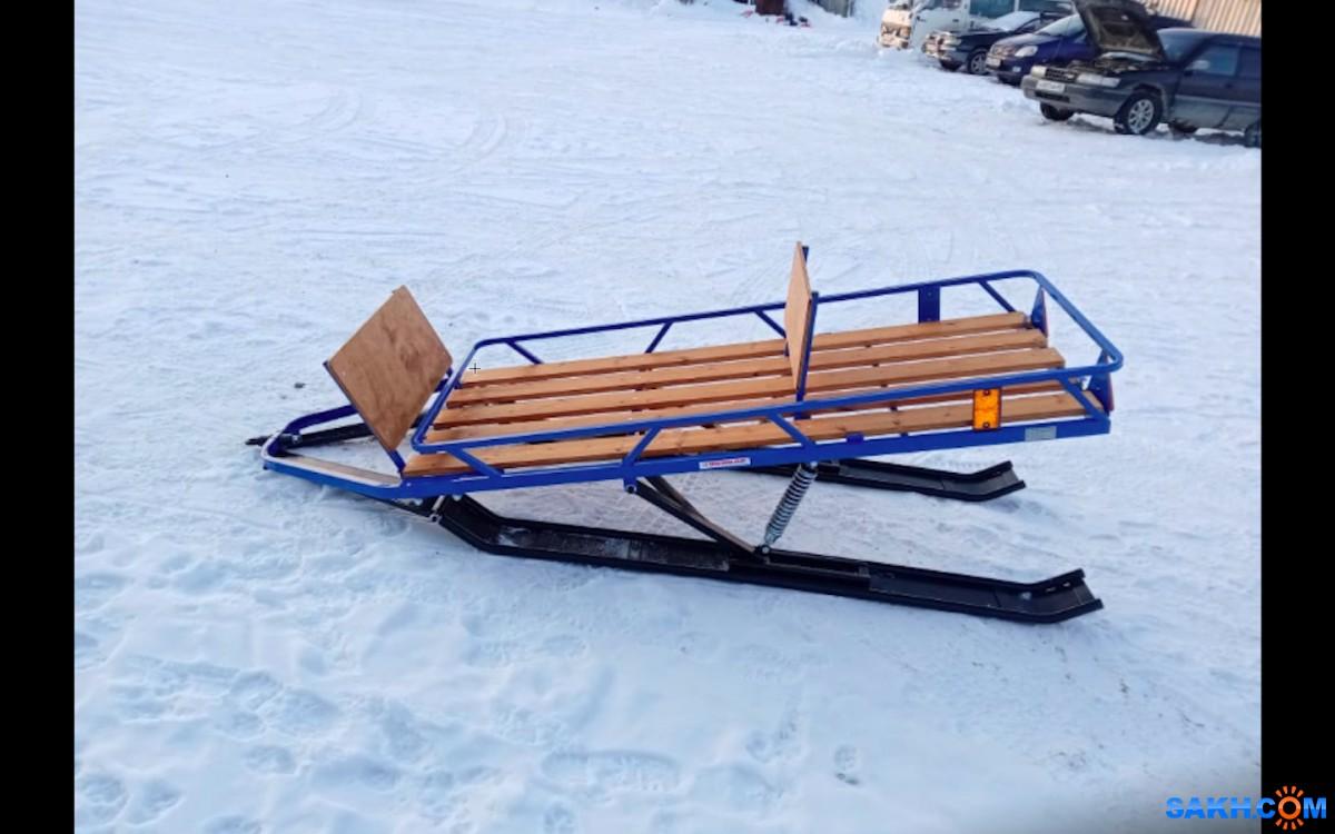 Новое поступление саней для снегоходов