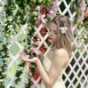 Свадебная фотосессия с живыми бабочками