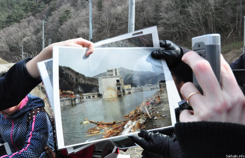 На фото— дом престарелых. Вода уже отступила, а была на уровне крыши