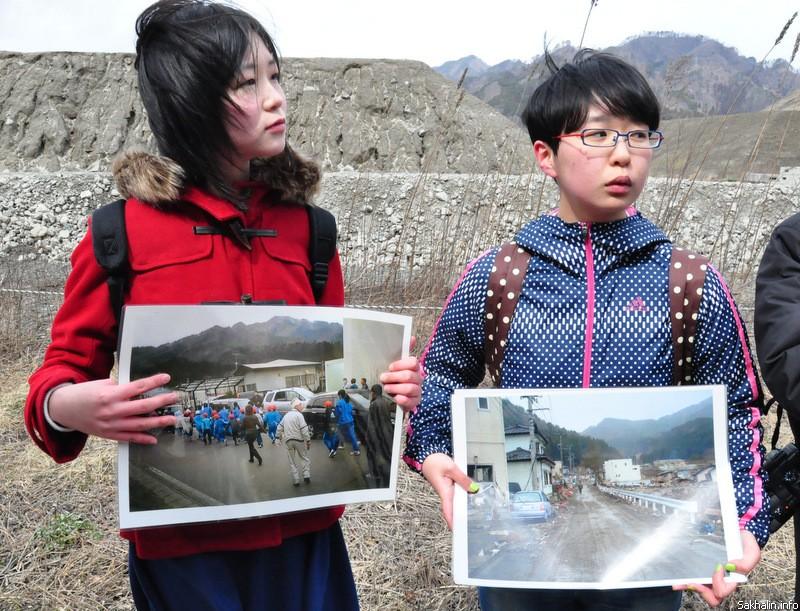 Сейчас эти подростки, ставшие свидетелями катастрофы, улыбаются и смеются. Но иногда они все же вспоминают цунами и им становится страшно, что подобное может повториться