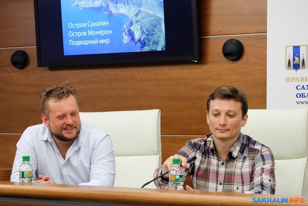 Константин Новиков иСергей Шанин
