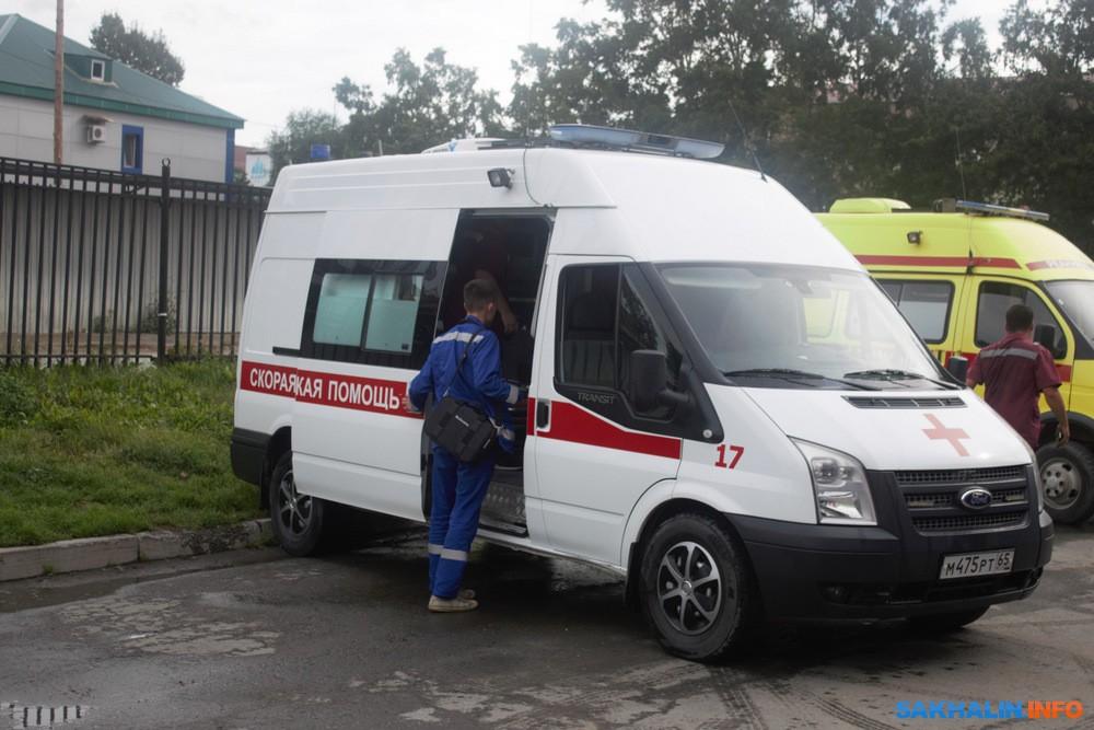 77 процентов бригад скорой помощи в районах Сахалинской области состоят из одного фельдшера