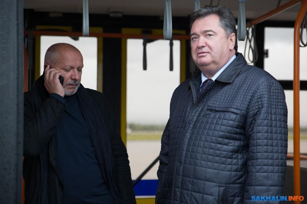 Сергей Новожилов и Алексей Самарин