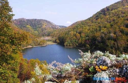 Озеро Октябрьское. Видна восток