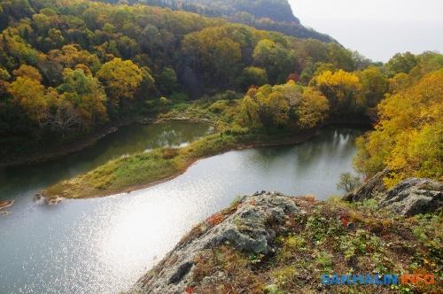 Озеро Октябрьское. Видна запад