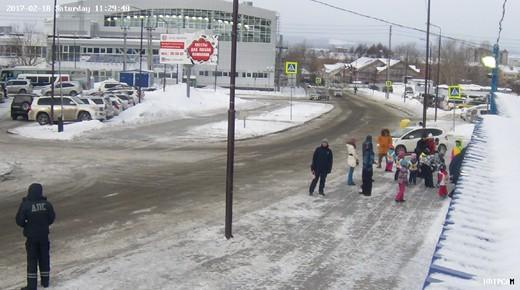 Фото с камер наблюдения 18 февраля