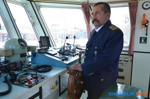 Капитан судна Николай Олегович Агафонов