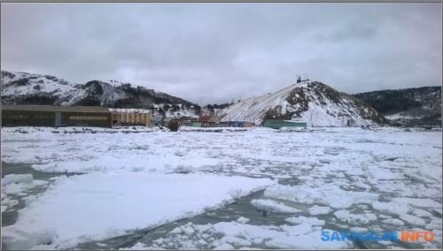 Бухта Малокурильская 17 марта