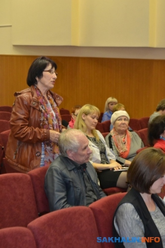 Встреча сжителями Крабозаводского