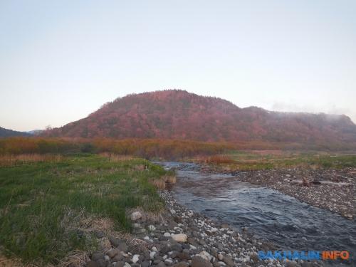 Устье реки Ичары