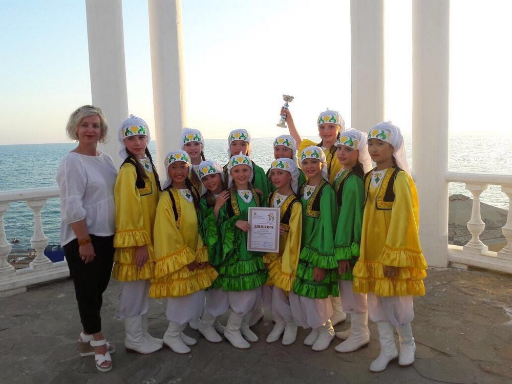 Международном фестивале конкурсе черноморские звезды