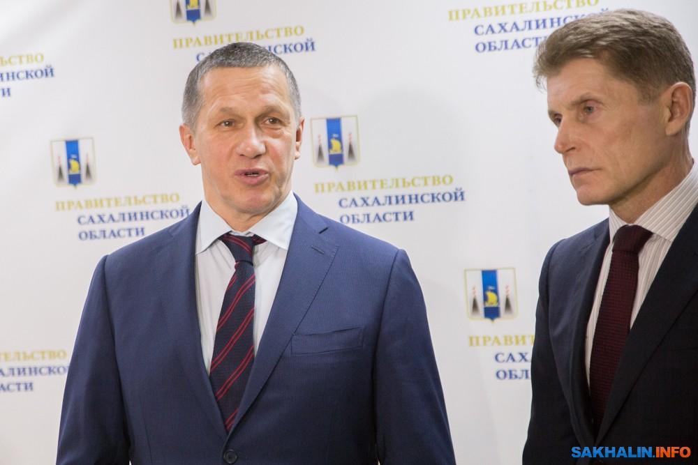 Юрий Трутнев и Олег Кожемяко