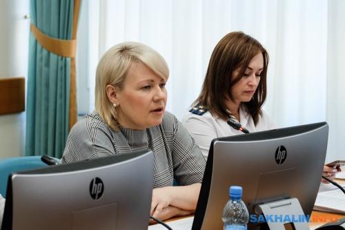 Татьяна Бабич (слева)