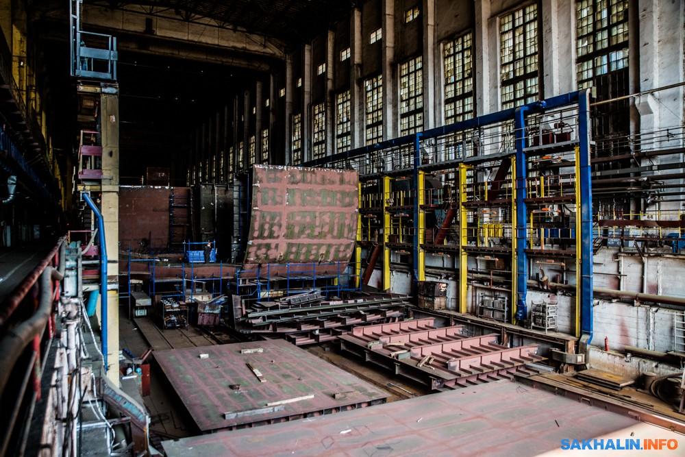 Закрытый эллинг— гордость Амурского судостроительного завода