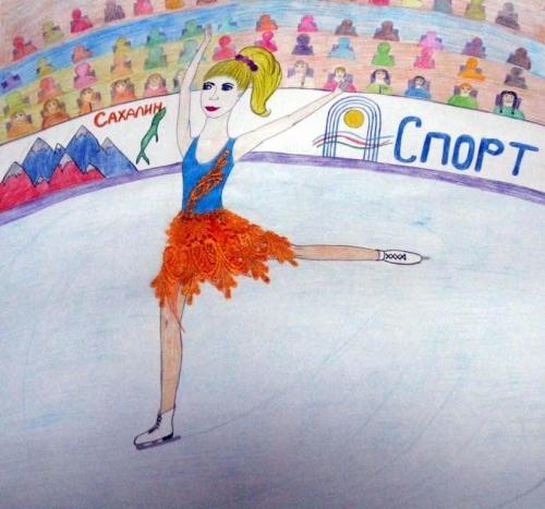 6. Валерия Жарова, Сказочный каток, 8 лет