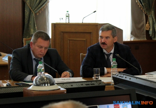 Дмитрий Зайцев (справа)
