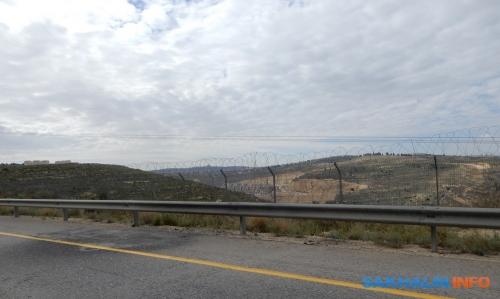 Проволока истена награнице между Палестиной иИзраилем