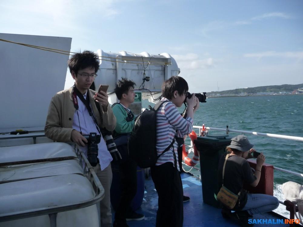 Японские туристы