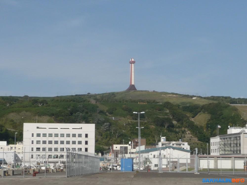 Башня просматривается излюбой точки города