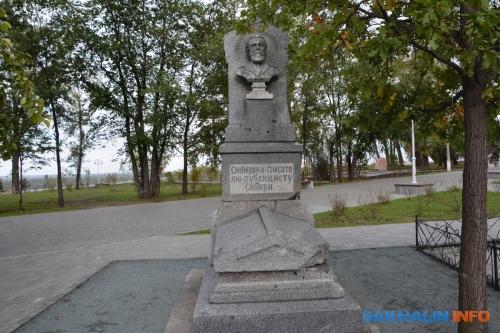 Памятник писателю, ученому ипублицисту Н.М.Ядринцеву