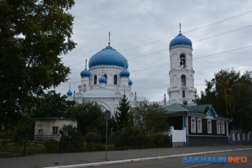 Бийск. Успенский кафедральный собор