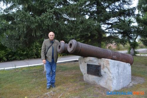 Пушки, стоявшие настене Бийской крепости вначале XVIII века
