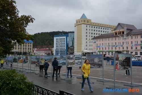 Центральная площадь Горно-Алтайска