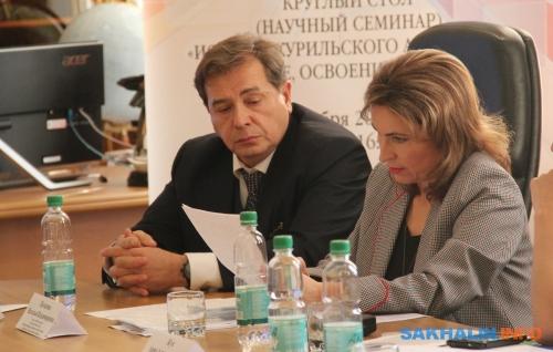 Александр Василевский иНаталья Потапова