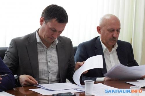 Олег Саитов иАлександр Болотников