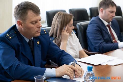 Природоохраный  прокурор Виталий Дуюнов