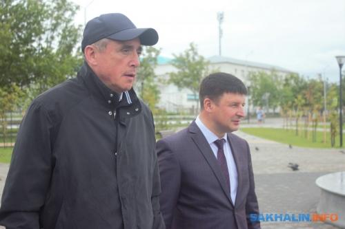 Валерий Лимаренко иСергей Дорощук