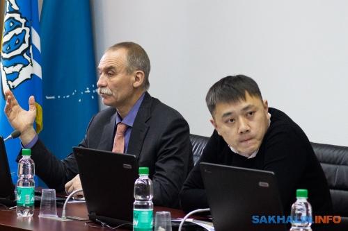 Сергей Дмитриев иЕвгений Тян