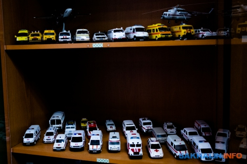 Коллекция транспорта экстренных служб