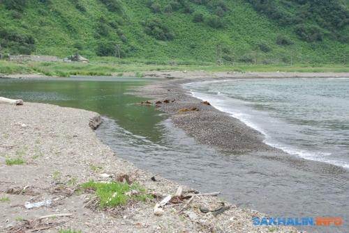 Окоо— устье реки вглубокой долине