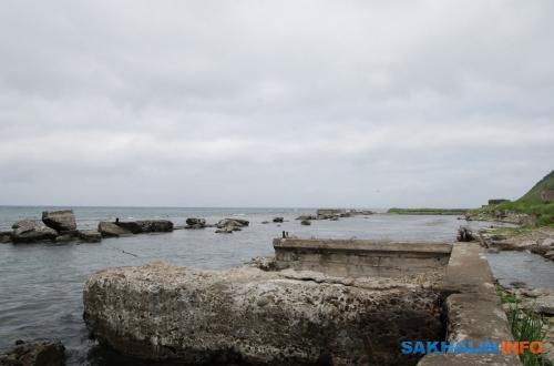 Остатки японского порт-ковша вЯсноморском