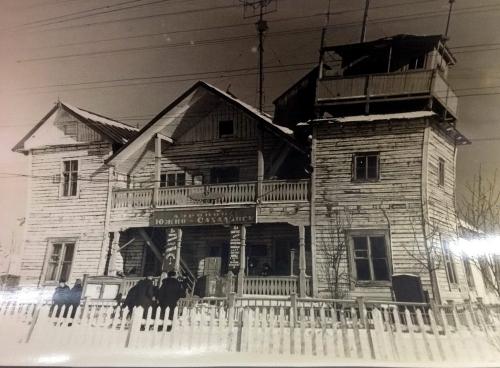 """Вот таким былаэропорт после освобождения  отяпонцев, аэродром """"Осава"""", Тойохара (ныне Южно-Сахалинск), сентябрь 1945 года"""