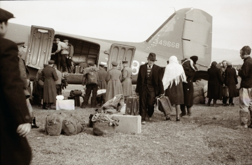 Аэродром Тойохара (ныне Южно-Сахалинск), 1946 год