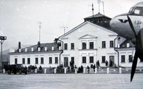 Аэропорт (Большая Елань) в50-е годы