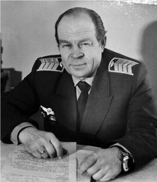 В. А. Безукладников, командир эскадрильи самолетов Ил-14,  фото 1983 года