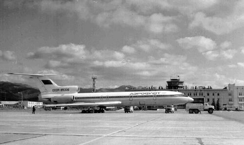 Технический рейс самолета Ту-154, 25 октября 1985 года