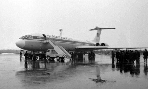 Первый технический рейс ИЛ-62 Москва— Южно-Сахалинск, ноябрь 1986 года