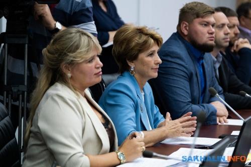 Галина Подойникова вцентре
