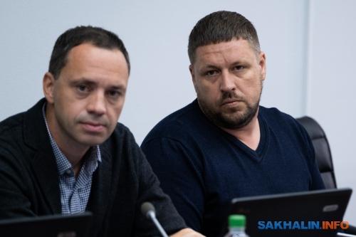 Иван Бутаков иСергей Замотаев