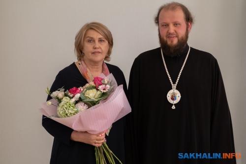 Людмила Меос ивладыка Аксий