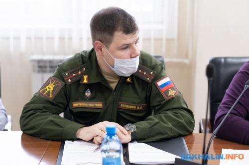 Павел Степанов, представитель 68-го армейского корпуса
