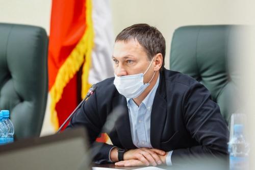 Олег Саитов, фото облдумы