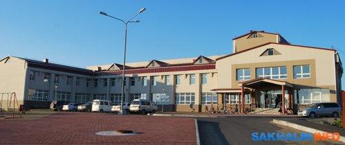 Районный ДК Южно-Курильска, современное фото