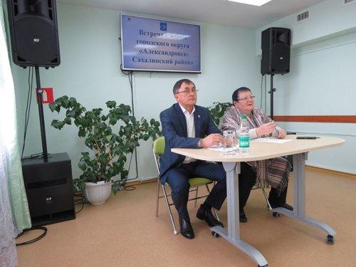 Владимир Иль (слева), фото администрации