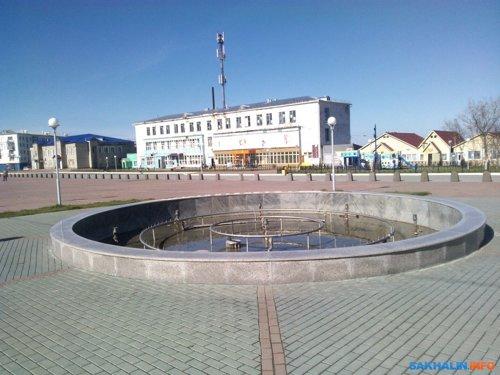 Площадь в Томари